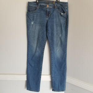 American Rag skinny Jean's light blue curvy 13r